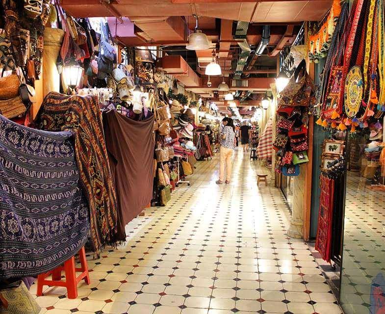 Inside Central Market Kuala Lumpur